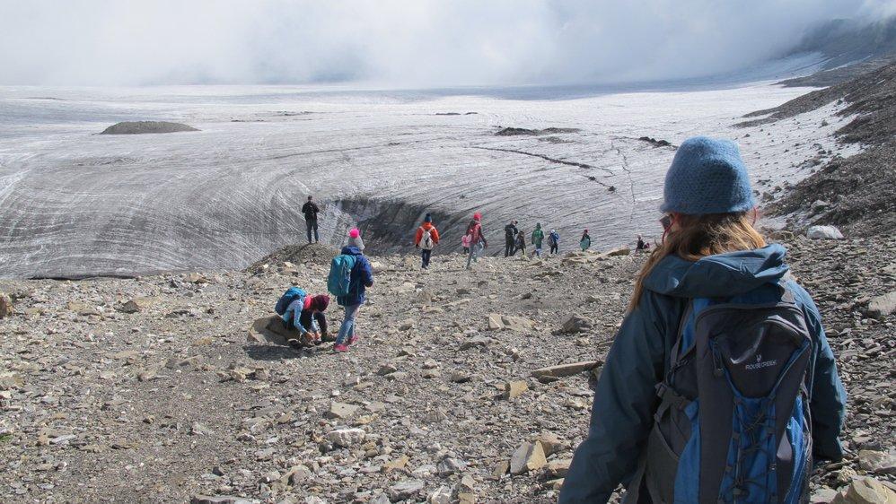 Durant le mois de septembre, 500 enfants des écoles de Crans-Montana fouleront le glacier de la Plaine Morte.