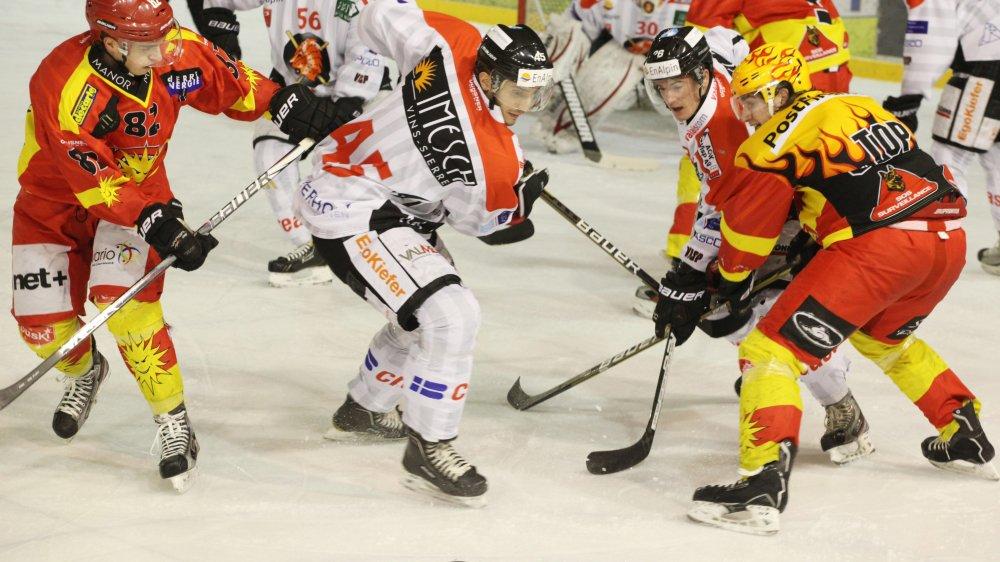 L'ultime confrontation entre Viège et Sierre remonte au 20 janvier 2013. Presque sept ans plus tard, les meilleures frères ennemis du hockey valaisan se retrouvent.