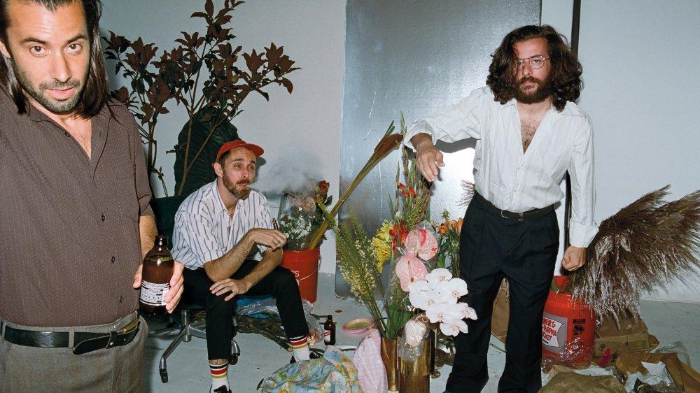 Alix Caillet (chant), Mattia Lucchini (guitare) et Jacques Cormary (chant). Le spleen décalé d'Odezenne fait merveille sur disque comme sur scène.