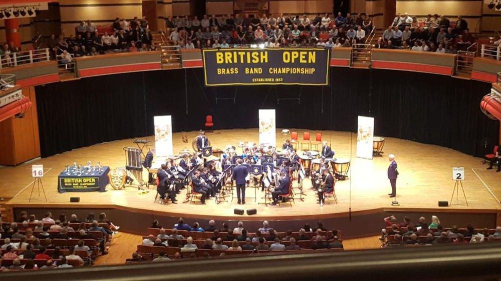 Le Valaisia Brass Band s'est heurté à une sérieuse concurrence en Angleterre.