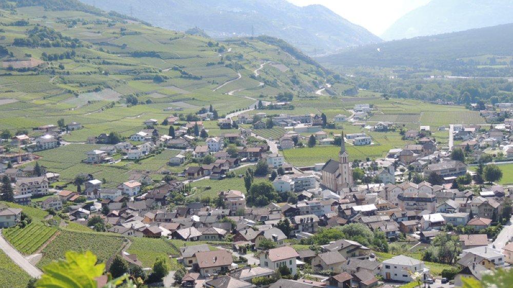 Commune emblématique du vignoble valaisan, Salquenen a remporté ce jeudi le Grand prix suisse de l'œnotourisme.