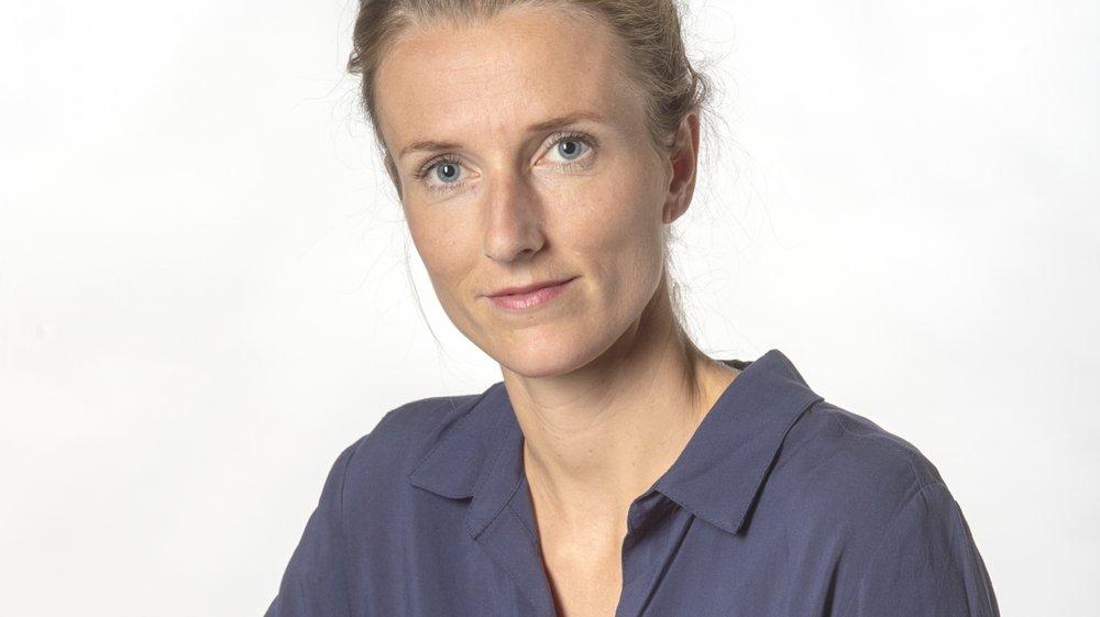 Sophie Dorsaz, journaliste au «Nouvelliste».