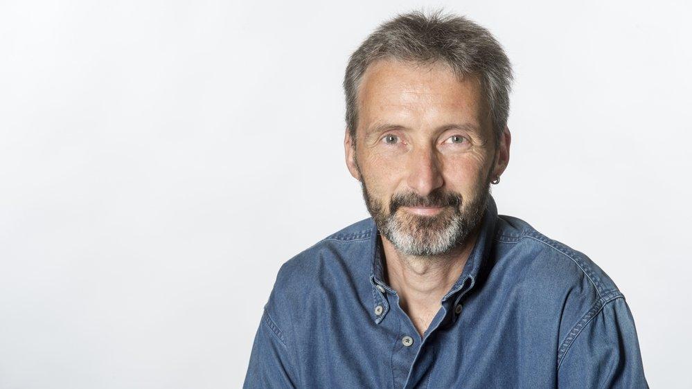 Sion -  3 septembre 2017  - Stéphane Fournier, journaliste Le Nouvelliste.