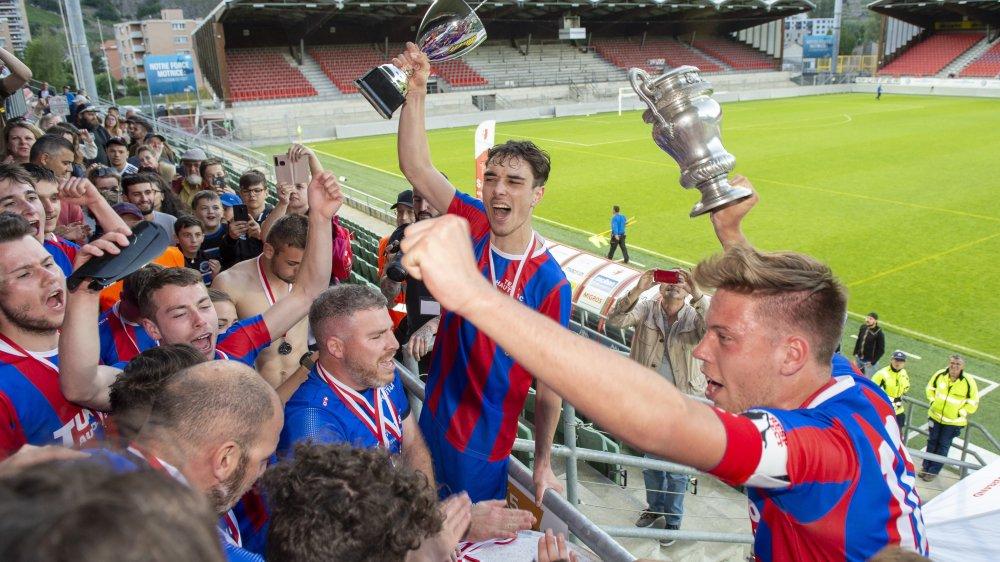 En 2019, le Team Haut-Lac a conquis la Coupe valaisanne des juniors A, son troisième trophée dans cette compétition.