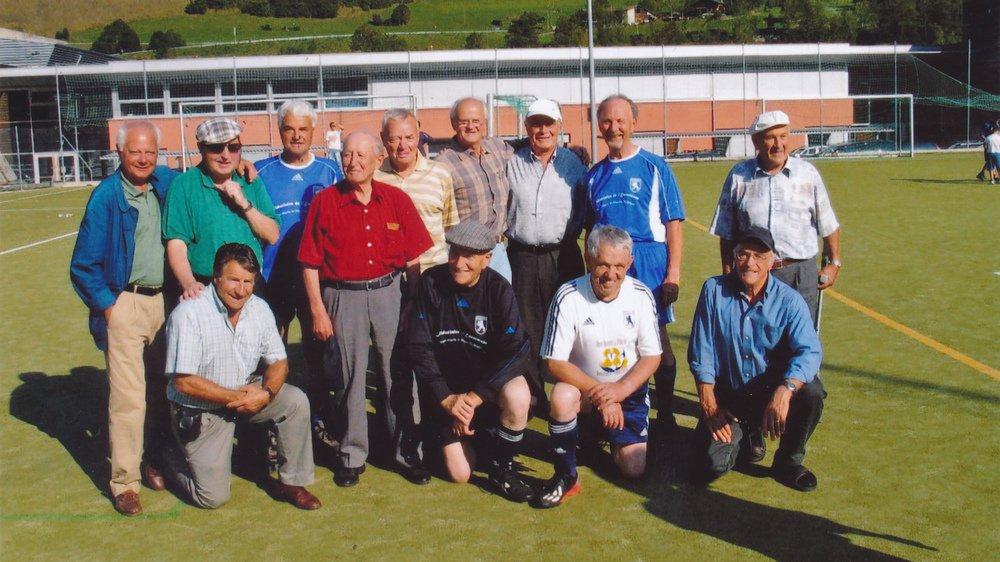 Les fondateurs du FC Orsières étaient réunis pour les 50 ans du club en 2007.