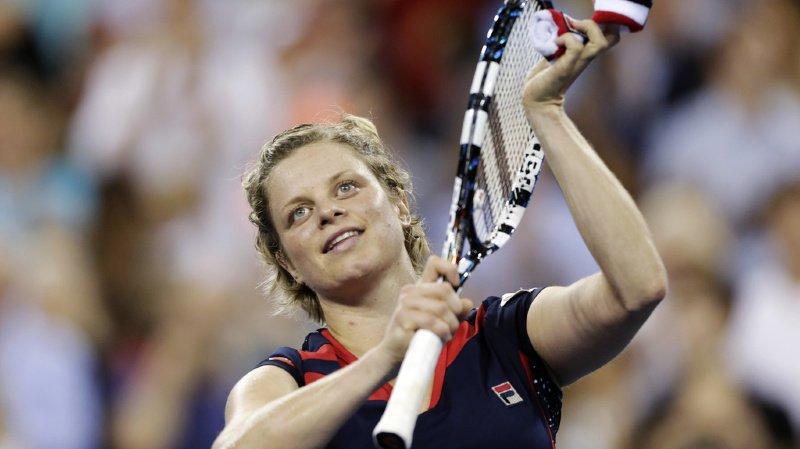 Kim Clijsters avait mis une deuxième fois terme à sa carrière en 2012, après sa victoire à l'US Open (archives).
