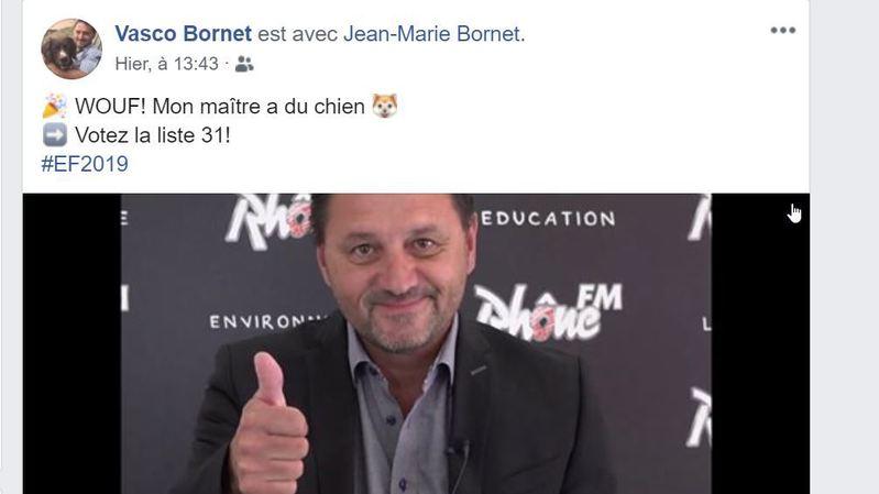 Fédérales 2019vues du Valais: les échos des réseaux sociaux (partie 4) la malchance aux chansons, AOC Valais, son chien choisirait Bornet