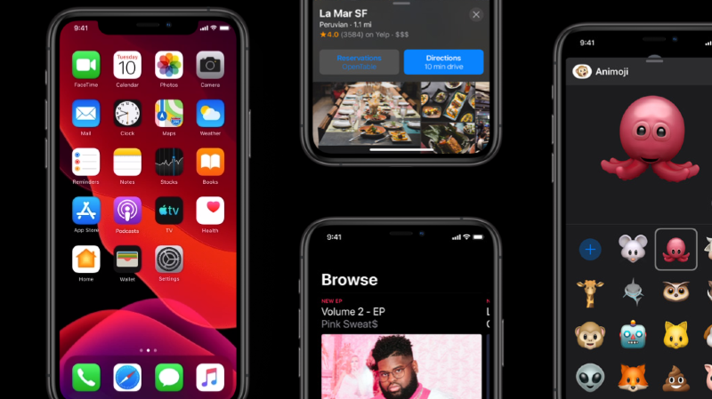 Applications améliorées, nouvelles fonctionnalités, mode sombre... Voici les principaux changements proposés par Apple.