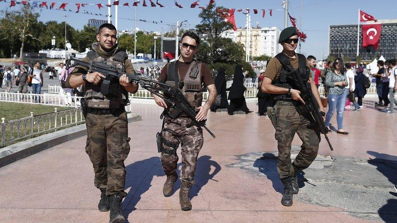 Plus de 55'000 personnes ont été arrêtées en Turquie après le putsch manqué et plus de 150'000 ont été limogées de la fonction publique. (Archives)