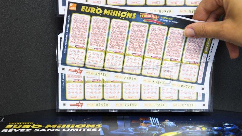 Euro Millions: pas de gagnant pour le jackpot de ce vendredi, 190 millions de francs en jeu mardi!