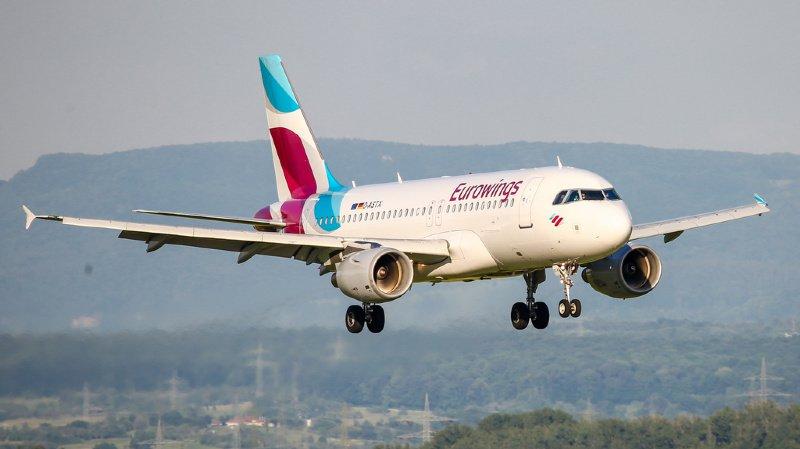 Violentes turbulences: un Airbus d'Eurowings atterrit avec huit blessés à Berlin