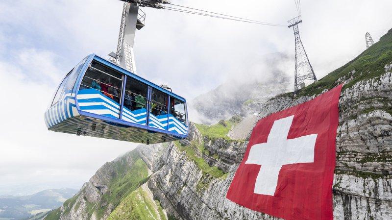 La Suisse figure au 10e rang en matière touristique, selon le WEF.
