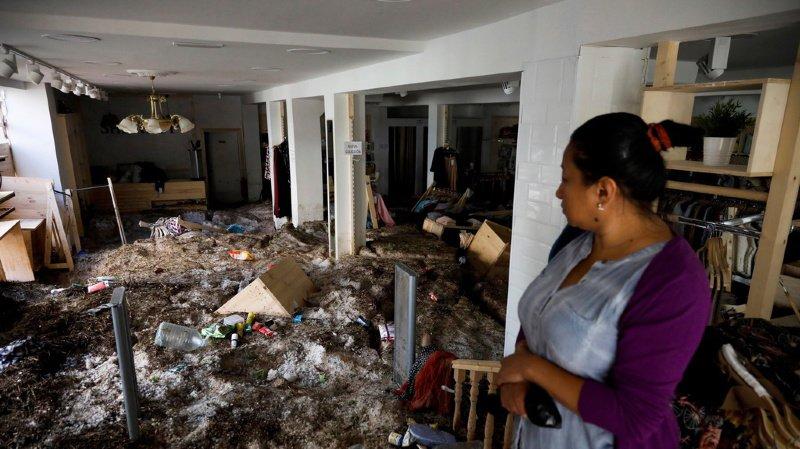 Espagne: grêle, inondations, torrents de boue…de violentes intempéries ont frappé la région de Madrid