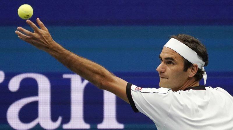 Tennis - US Open: Roger Federer bat Damir Džumhur en 4 sets et se qualifie pour le 3e tour