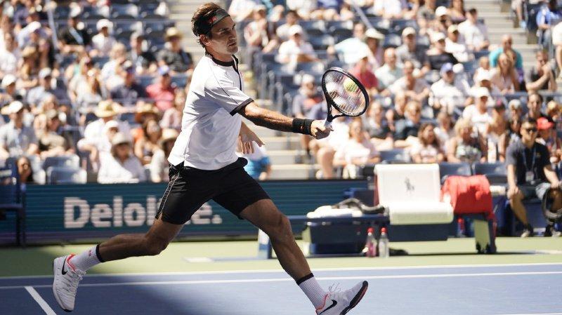Tennis - US Open: Roger Federer bat sans difficulté le Britannique Daniel Evans et passe en 8e de finale