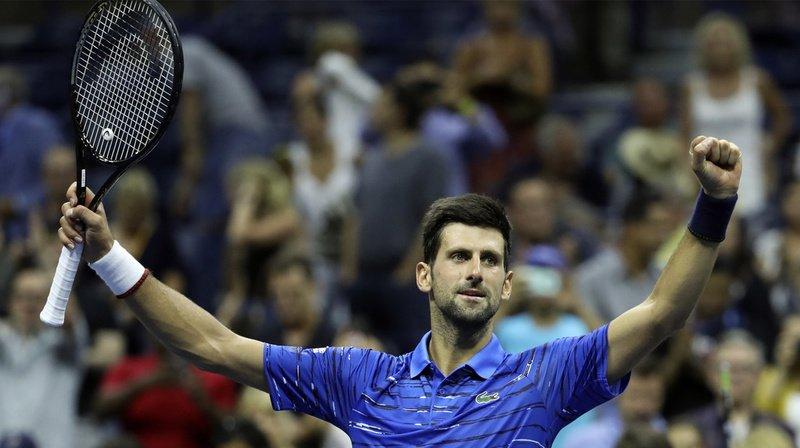 Tennis – US Open: Djokovic se qualifie pour les 8es de finale et affrontera Wawrinka