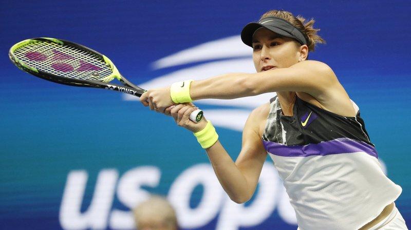 Belinda Bencic se qualifie pour les quarts de finale de l'US Open