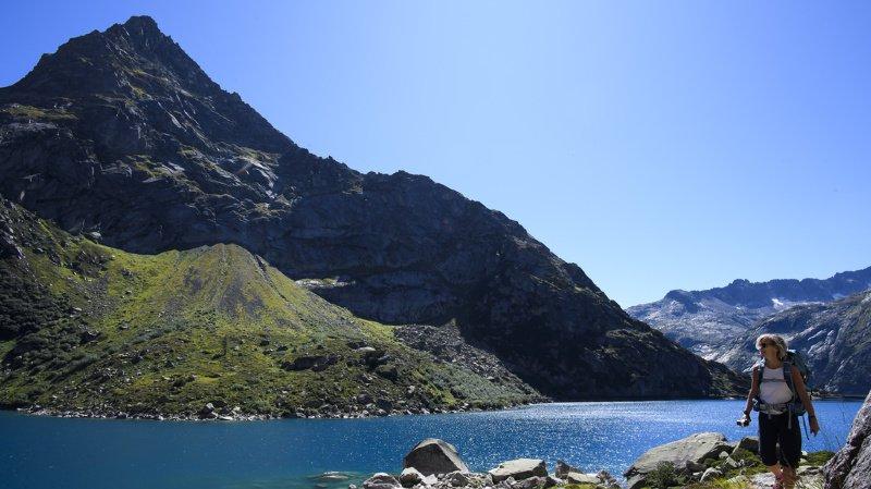 Dès jeudi, les températures vont devenir estivales en Suisse, en particulier en montagne. De quoi ravir les amateurs de randonnées. (Illustration)