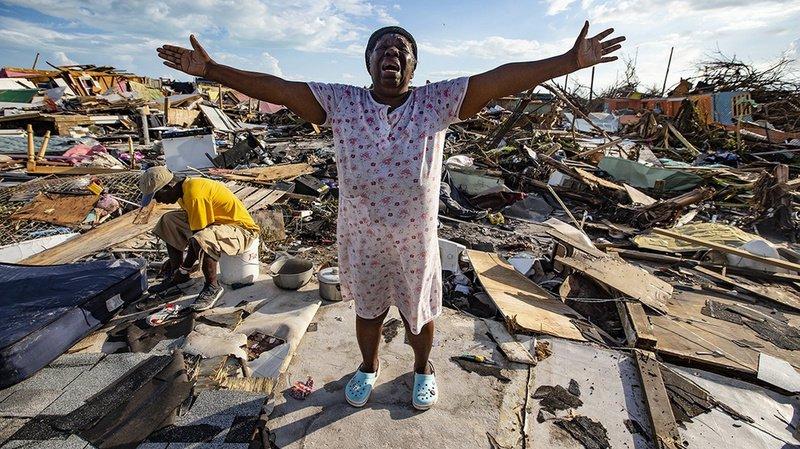 Ouragan Dorian: aux Bahamas, le bilan grimpe à au moins 43 morts