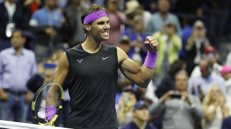 Rafael Nadal jouera dimanche sa cinquième finale de l'US Open. Il en a déjà remporté trois.
