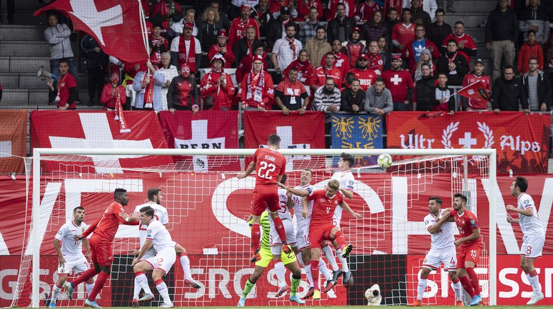 Football – Euro 2020: victoire de l'équipe suisse 4-0 face à Gibraltar en match de qualification