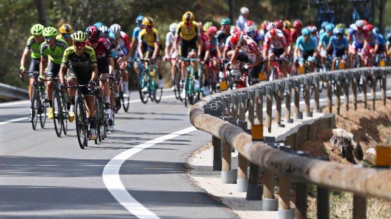 Cyclisme – Tour d'Espagne: le Colombien Higuita remporte la 18e étape de la Vuelta, devant Roglic