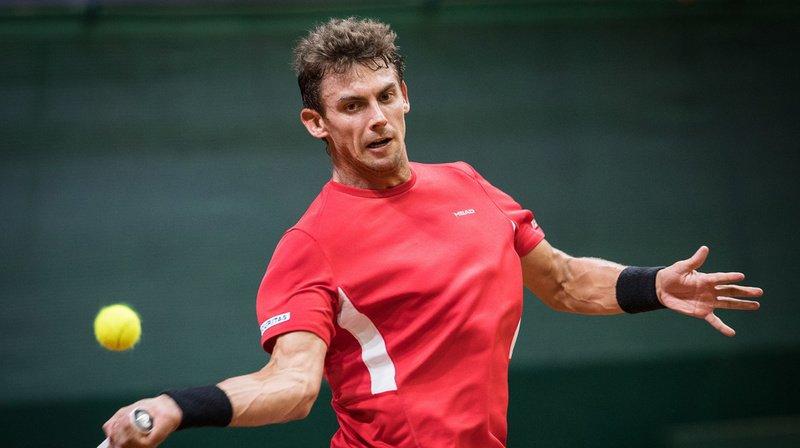 Tennis – Coupe Davis: la paire Laaksonen/Kym battue, la Suisse est menée 2-1 par la Slovaquie