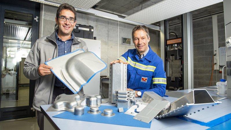 Sierre: dix ans d'innovation autour de l'aluminium au centre R&D de Novelis