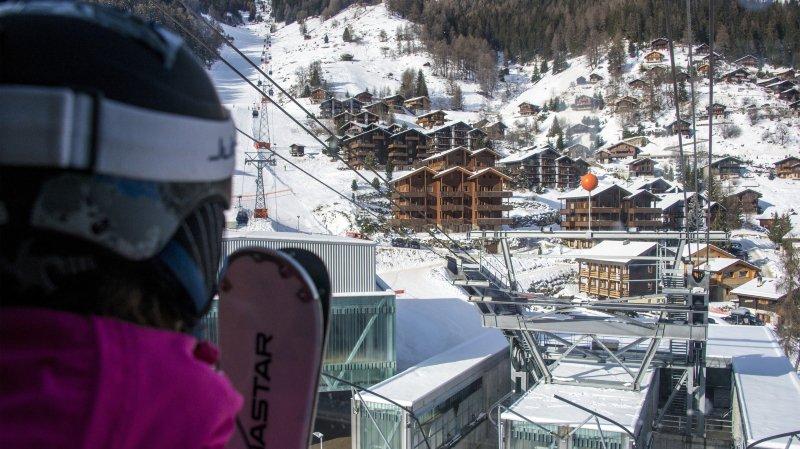 Grimentz-Zinal SA a enregistré 448 000 journées-skieurs lors de la saison hivernale 2018-2019.