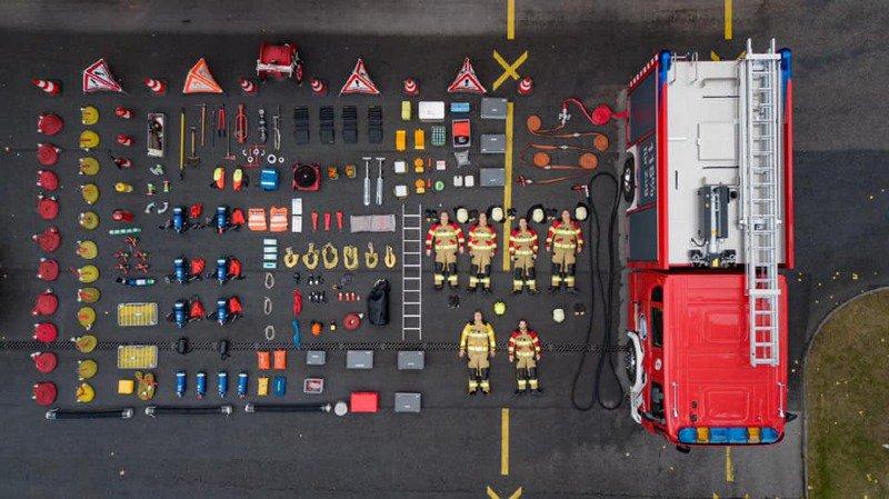 Insolite: pompiers et policiers de Suisse se défient sur le web au «Tetris challenge»