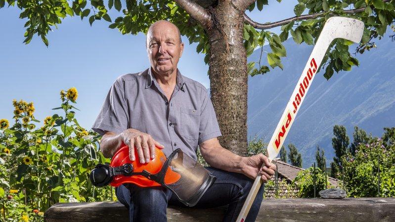 Sierre: Michel Schläfli, l'amour conjugué de la glace et du bois