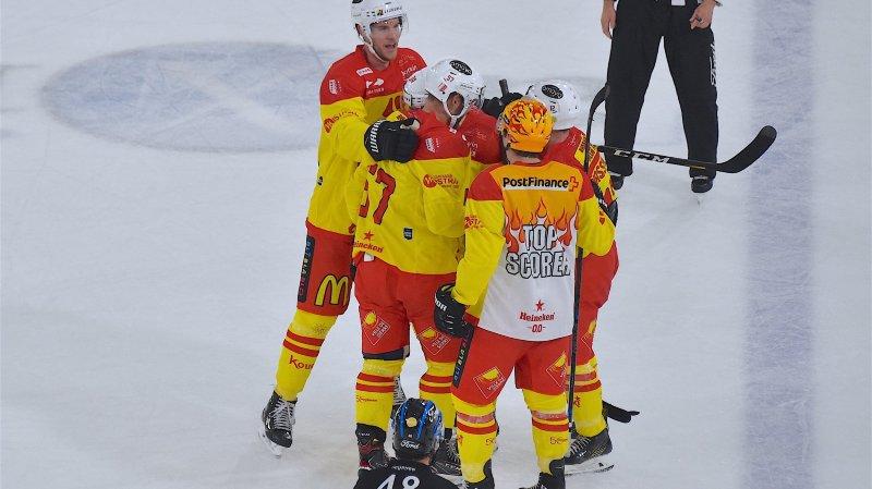 Hockey: euphorique, Sierre s'accroche à son petit nuage
