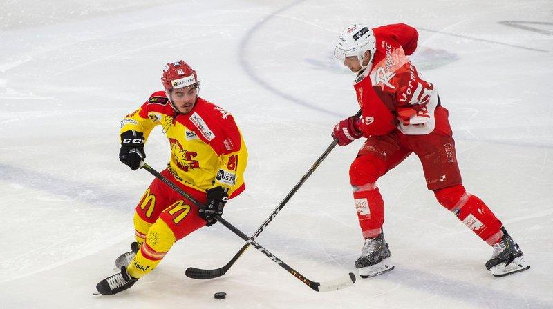 Le HC Sierre et le HCV Martigny s'étaient disputé la promotion en Swiss League, en mars dernier.