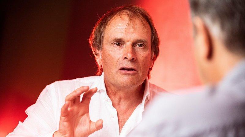 Alain Geiger: «Cette reconnaissance en Valais, c'est d'abord une grande responsabilité»