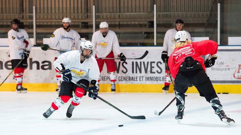 Hockey sur glace: le HCV Sion veut oublier les frayeurs de la saison passée