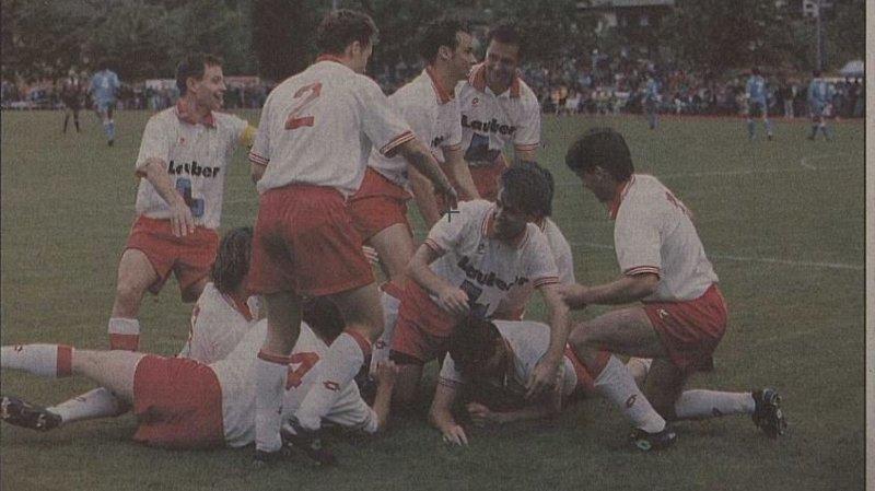 100 ans AVF: quand Naters piquait la promotion au FC Thoune [32/53]