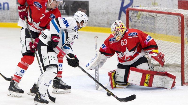 Hockey: HCV Martigny n'a pas eu le temps de rêver