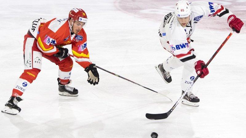 Hockey: le HC Sierre a longtemps tenu tête à Lausanne