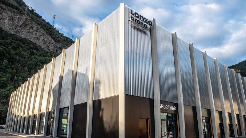L'intérieur de la Lonza Arena est à découvrir durant tout le week-end.
