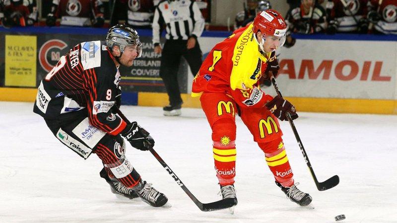 Arnaud Riat avait déjà disputé quatre rencontres avec le HC Sierre l'hiver passé.