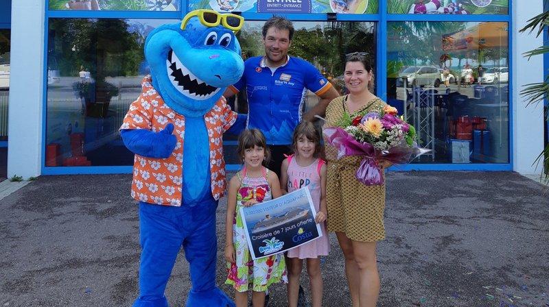 Le Bouveret: Aquaparc accueille son cinq millionième visiteur en vingt ans