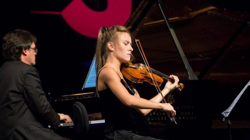 La Danoise Anna Agafia Egholm lauréate du Concours international de violon Tibor Varga