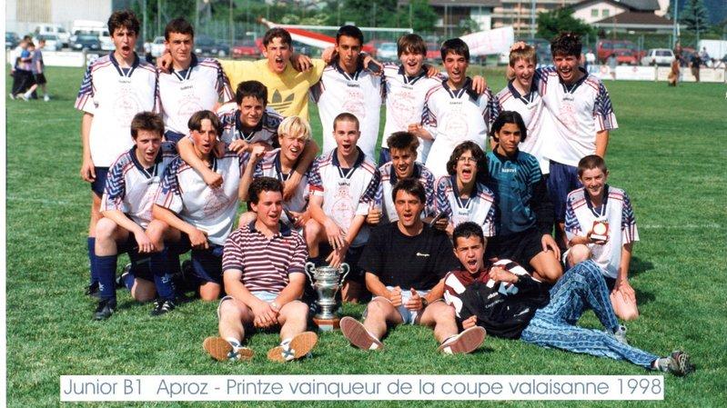 100 ans de l'AVF: quand le FC Printse Nendaz réunissait trois clubs en un mouvement jeunesse [36/53]