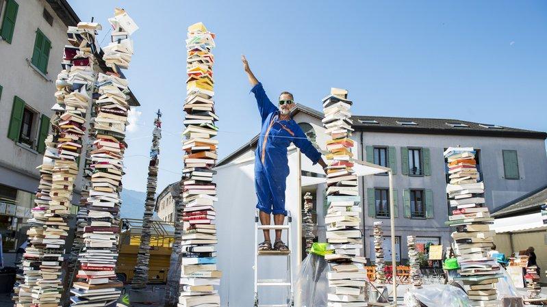 Saint-Pierre-de-Clages: il transforme 4000livres en sculpture monumentale
