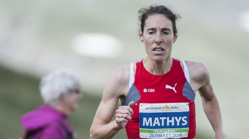 Maude Mathys domine les courses de montagne depuis le début de l'été