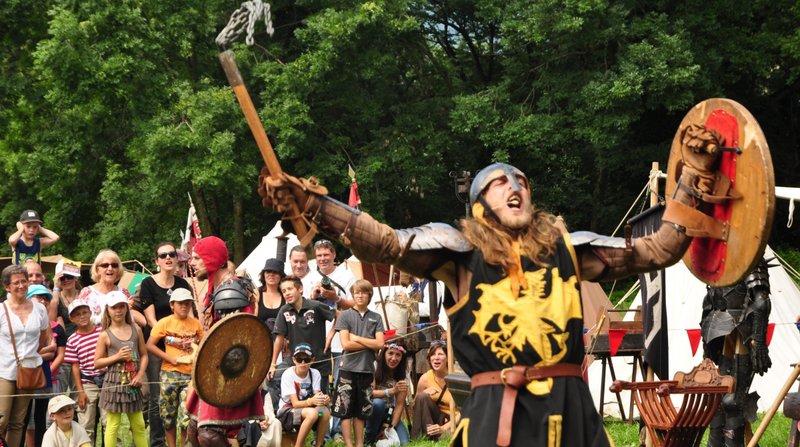 Les chevaliers tiendront la vedette ce week-end à la 3e Fête médiévale de Saint-Triphon.