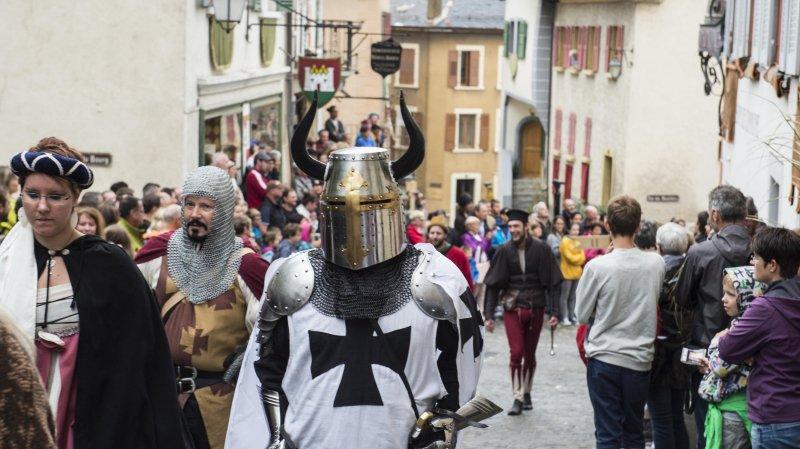 Saillon: les Fêtes médiévales à la conquête du Graal