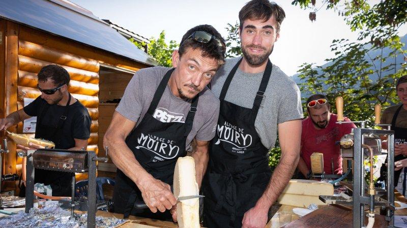 Le concours Fromage & Cime d'Ovronnaz décerne sa médaille d'or au raclette de l'alpage de Moiry