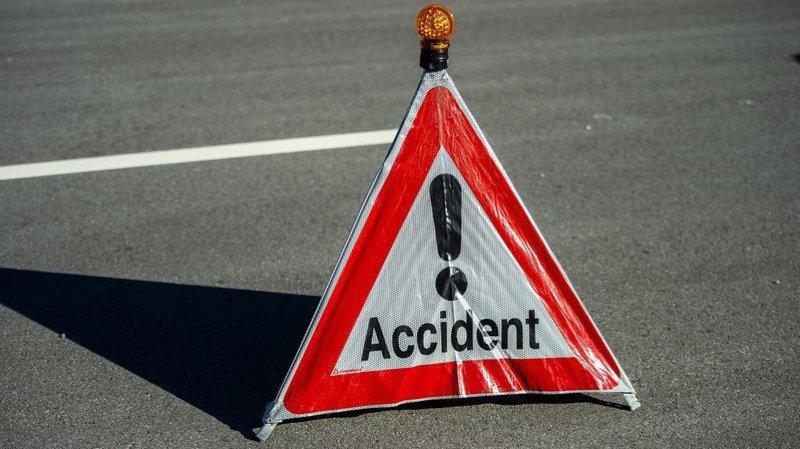 Une intervention est en cours à la suite d'un accident sur la route de Riddes à Sion.