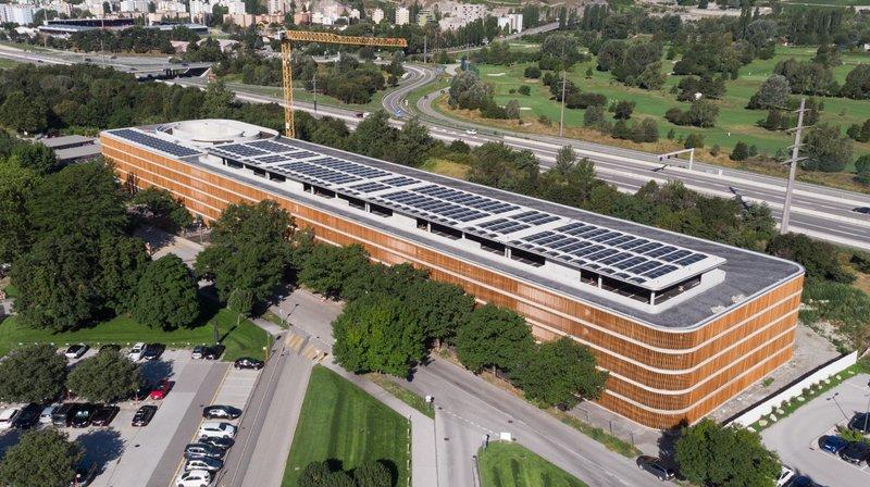 Hôpital de Sion: un nouveau parking d'environ 1200 places